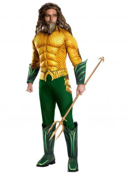 DELUXE AQUAMAN COSTUME FOR MEN