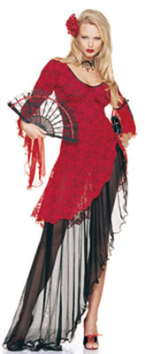 SPANISH FLAMENCO DANCER