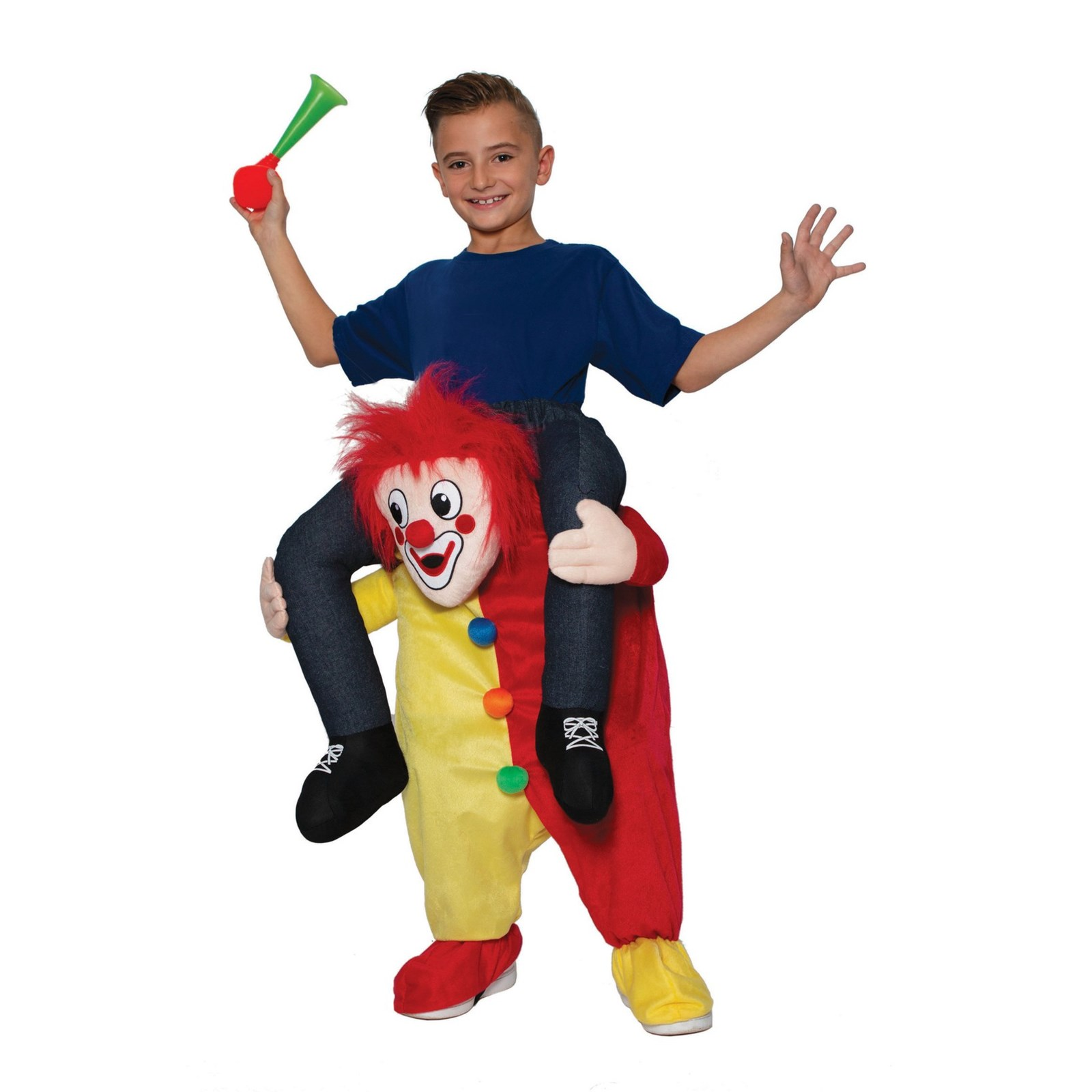FUN RIDE-ON CLOWN COSTUME FOR KIDS