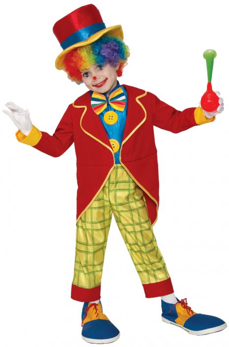 FUNNY CLOWN COSTUME FOR KIDS