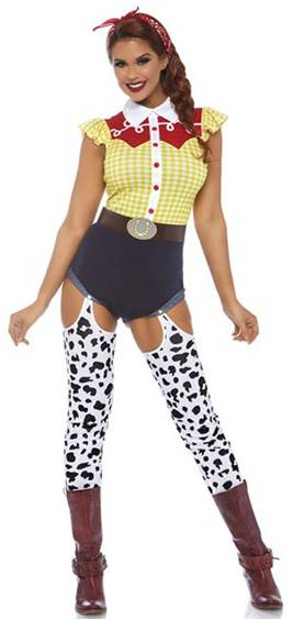 SEXY JESSIE GIDDY UP COWGIRL COSTUME FOR WOMEN
