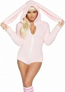 SEXY CUDDLE BUNNY COSTUME FOR WOMEN
