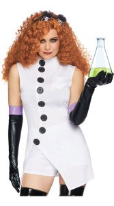 SEXY MAD SCIENTIST COSTUME FOR WOMEN