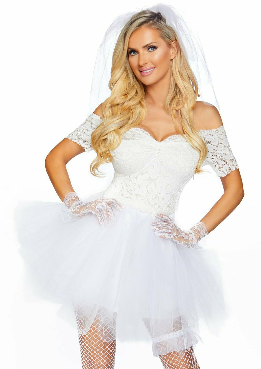SEXY BLUSHING BRIDE TIFFANY COSTUME FOR WOMEN