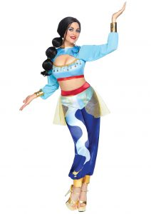 SEXY GENIE BABE IN A BOTTLE COSTUME FOR WOMEN