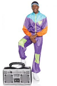 80s TRACK SUIT COSTUME FOR MEN
