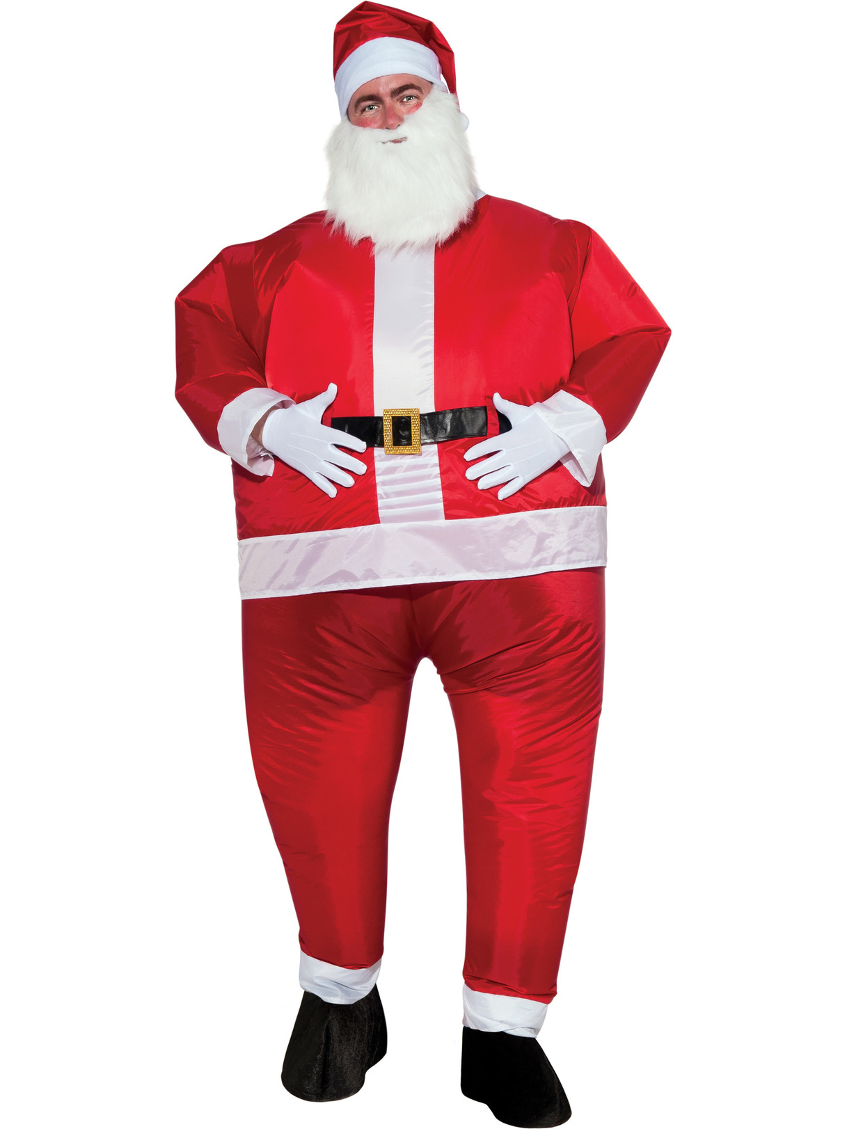 DELUXE INFLATABLE SANTA COSTUME FOR MEN