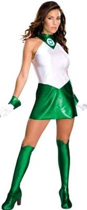JADE THE FEMALE GREEN LANTERN