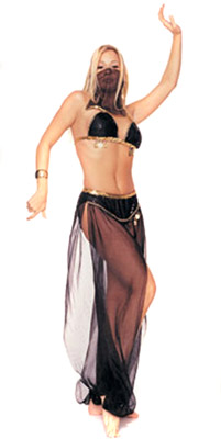 HAREM DANCER (BLACK)