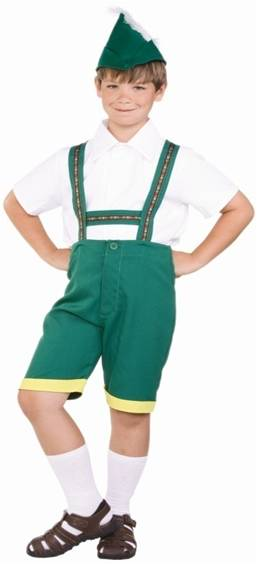 BAVARIAN BOY COSTUME FOR BOYS