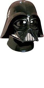 DARTH VADER MASK & HELMET SET WITH BREATHING SOUND