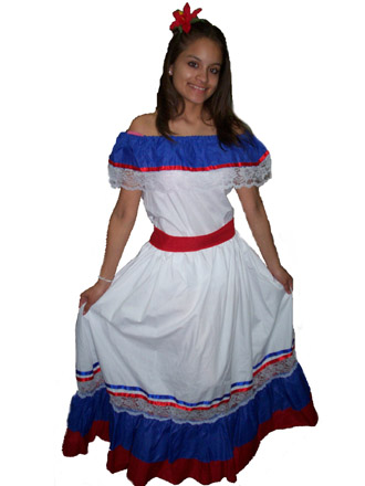 Dominican republic national dress pictures