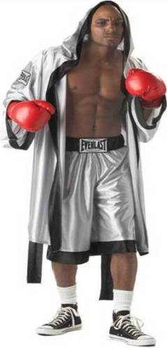 Boxer Fighter Robe Crazy For Costumes/La ...
