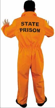 BAD BOY PRISONER JUMPSUIT