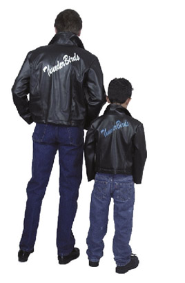 ADULT THUNDERBIRDS PLEATHER JACKET