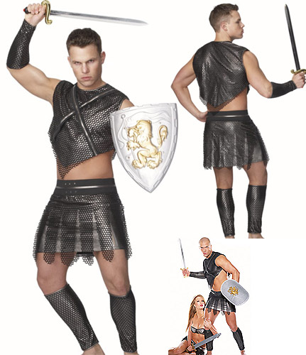 GLADIATOR  sc 1 st  Crazy For Costumes & All u003e Men u003e Greeks u0026 Romans - Crazy For Costumes/La Casa De Los ...