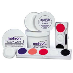 Mehron Clown White 16 oz. Size