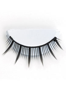 BLACK SPIKED LASHES