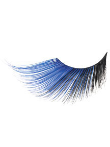 BLUE/BLACK EXTRA LONG LASHES