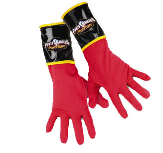 RED RANGER GLOVES