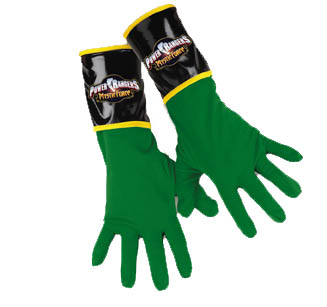 GREEN RANGER GLOVES