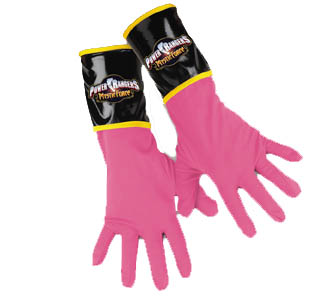 PINK RANGER GLOVES