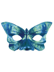 BUTTERFLY IRRIDESCENT FACE MASK