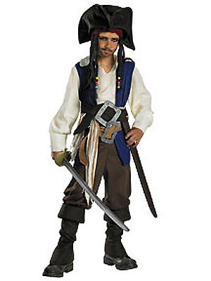 CAPTAIN JACK SPARROW DELUXE