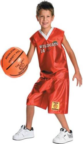 TROY BASKETBALL OUTFIT