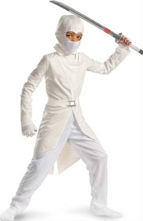 G.I. JOE STORM SHADOW DELUXE COSTUME