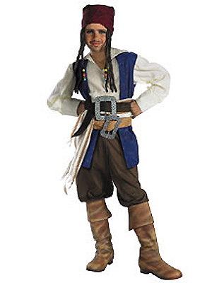 CAPTAIN JACK SPARROW QUALITY COSTUME