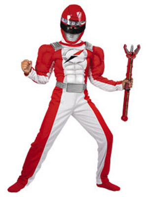 DELUXE RED RANGER OPERATION OVERDRIVE