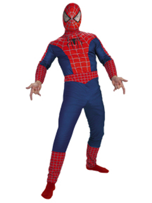 SPIDERMAN 3 STANDARD QUALITY COSTUME
