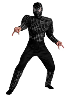 BLACK SUITED DELUXE SPIDERMAN 3