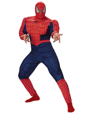 SPIDERMAN 3 DELUXE MUSCLE COSTUME