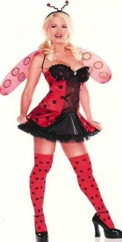 PLAYBOY LICENSED LADYBUG COSTUME