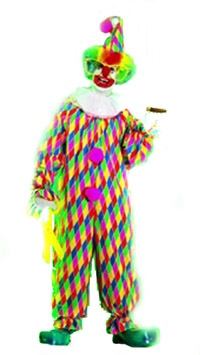 MULTI COLORED CLOWN