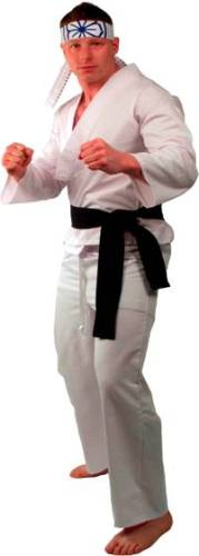 DELUXE COMPLETE KARATE KID COSTUME