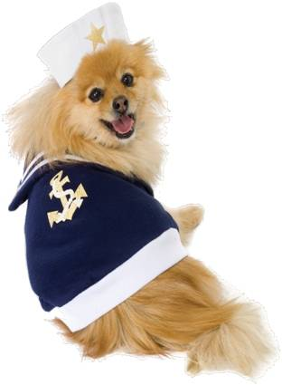 2 PIECE SAILOR PUP