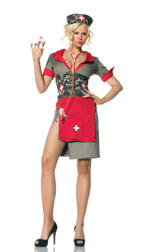 ARMY NURSE COSTUME