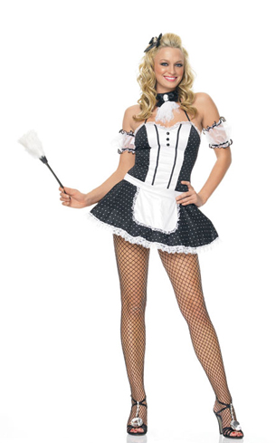 FRENCHIE MAID COSTUME