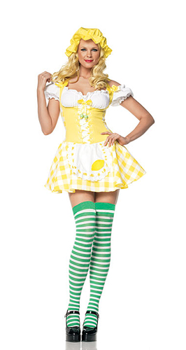 LEMON GIRL COSTUME