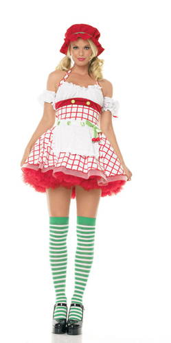 CHERRY GIRL COSTUME