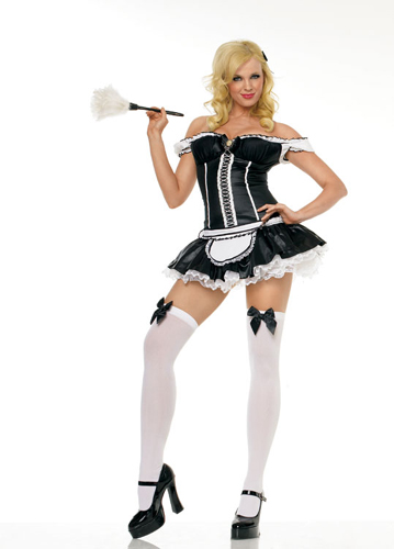 NAUGHTY FRENCH MAID