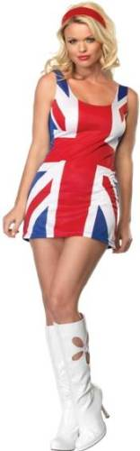 BRITISH FLAG DRESS