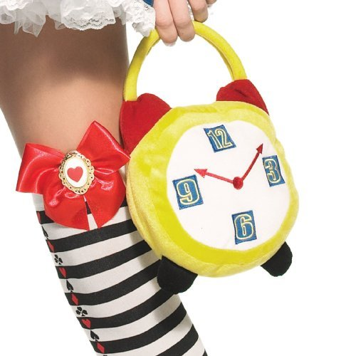 CRAZY HOUR ALARM CLOCK PURSE