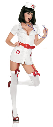 NAUGHTY WHITE NURSE