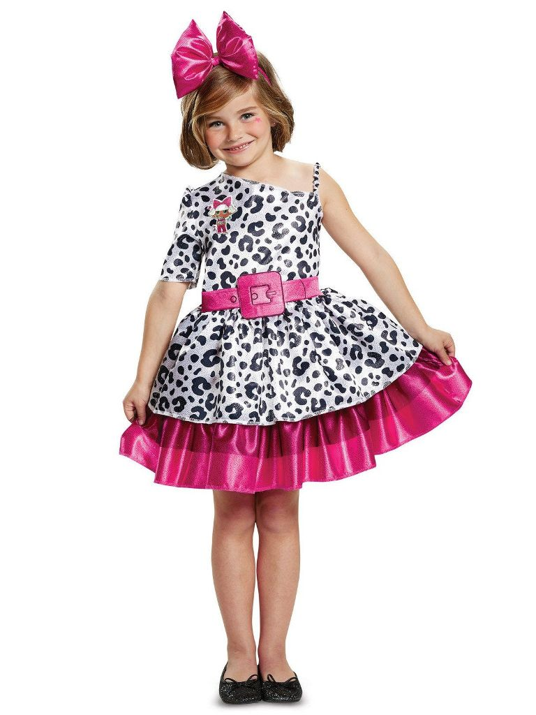 L.O.L. SURPRISE DIVA COSTUME FOR GIRLS
