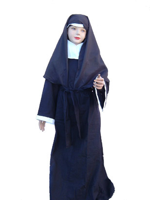 CHILD NUN COSTUME