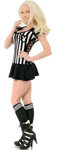 PLAYBOY LICENCED RACY REFEREE